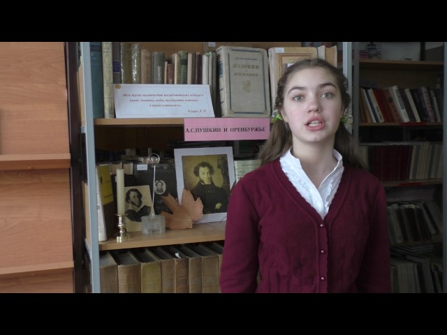 Изображение предпросмотра прочтения – КсенияШалепо читает произведение «Зимнее утро» А.С.Пушкина