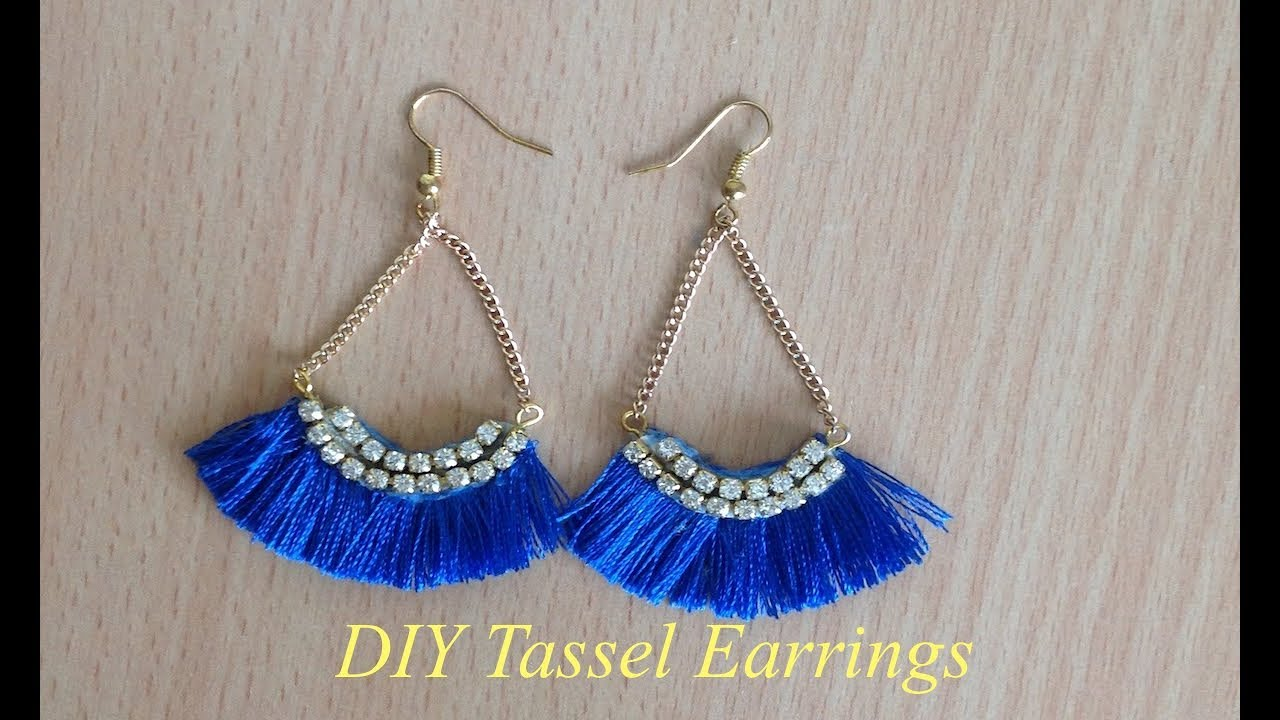 Diy Tassel Earrings Ii Trendy Silk Thread Tassel Earrings