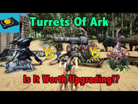Ark Insight! - Tek Turret VS Auto Turret VS Plant Species X Turret!