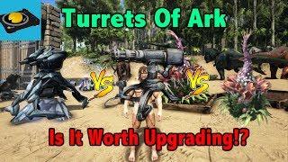 Ark Insight! - Tek Turret VS Auto Turret VS Plant Species X Turret!