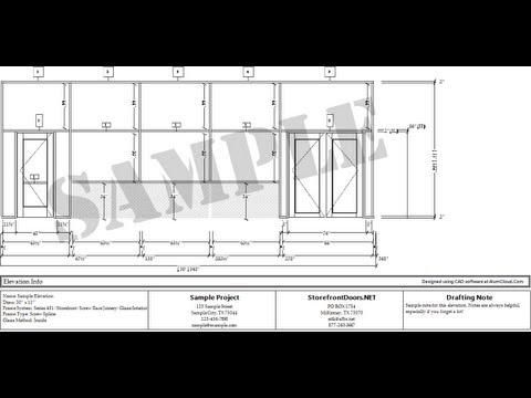 Shop drawings door schedules youtube shop drawings door schedules malvernweather Choice Image