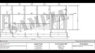 Shop Drawings & Door Schedules