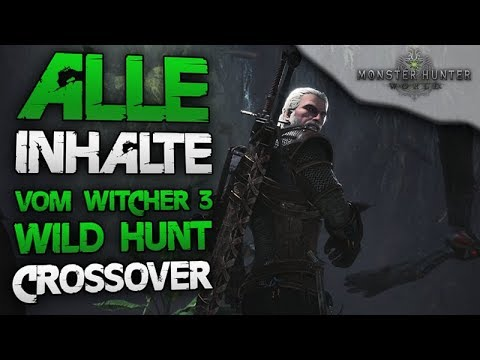Alle neuen Inhalte vom Witcher 3 Wild Hunt Event - Monster Hunter World Deutsch thumbnail