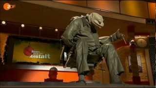 """Michael Hatzius und """"Die Echse"""" - NEUES VON DER ANSTALT - 18.12.2012"""