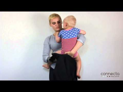 Front Carry with a Connecta Baby Carrier