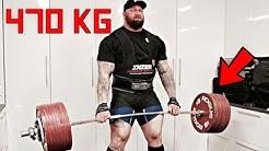 Thor Bjornsson DESTROYS 470kg on Livestream! - Practice for 501kg