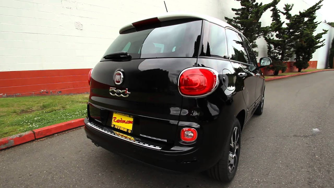2014 Fiat 500L Turbo Black stk# EZ002538 - Rairdon's Fiat of ...