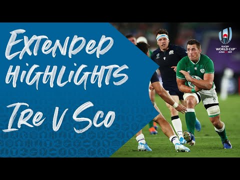 Extended Highlights: Ireland 27-3 Scotland - Rugby World Cup 2019
