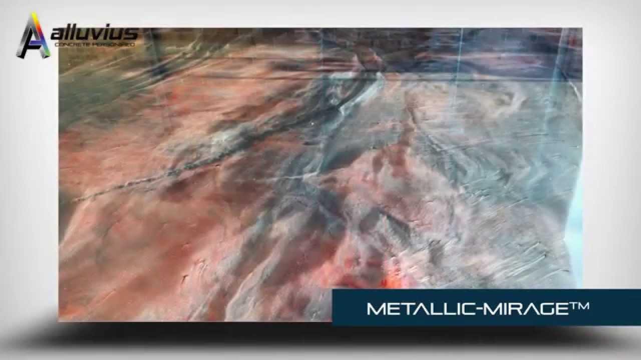 Alluvius Metallic Mirage Epoxy Garage Floor Coating Youtube