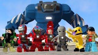LEGO Marvels Avengers How to Unlock All Characters in Malibu HUB
