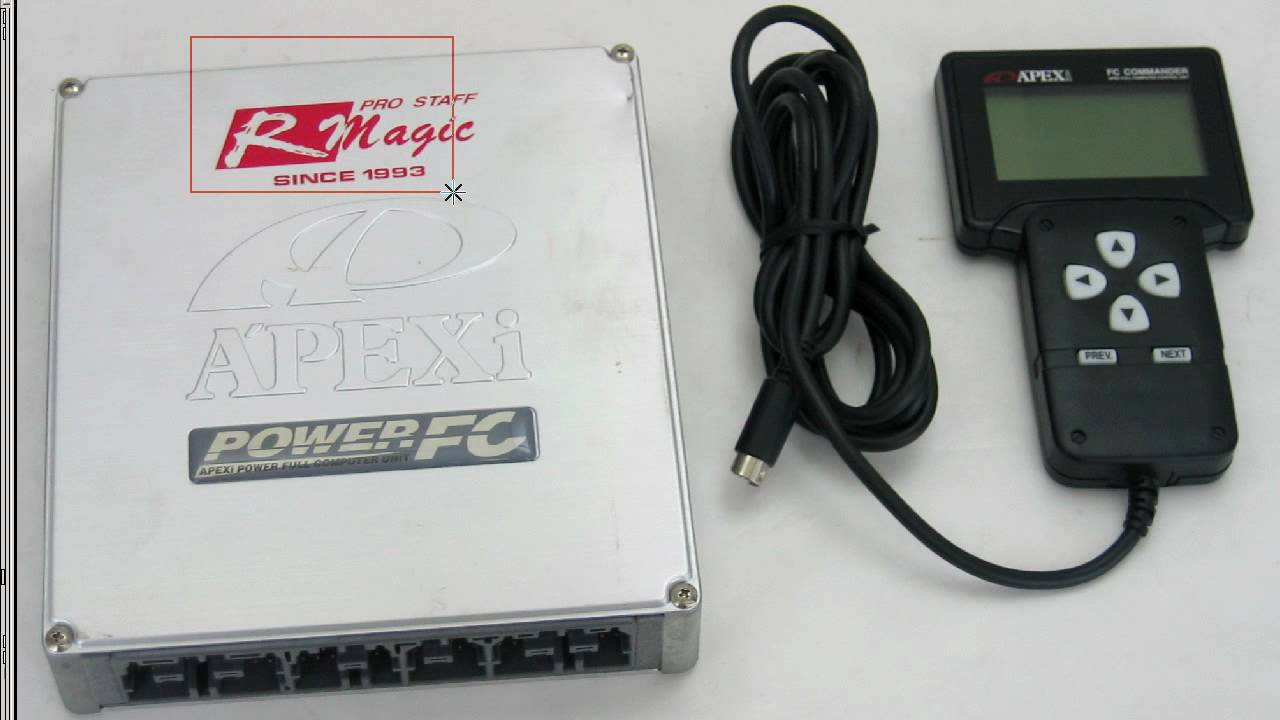 Apexi power fc Ecu + commander FCC3 Mazda fd3s FD3S5 95-98 Type 4 ...