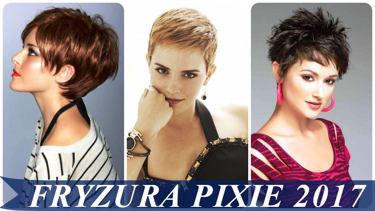 Fryzura Pixie 2017