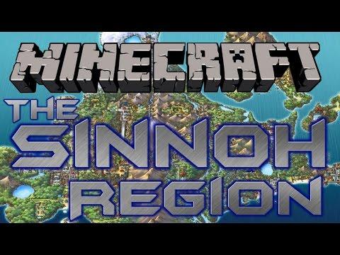 BUILDING THE SINNOH REGION IN MINECRAFT! -Introduction