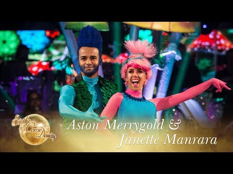 Aston Merrygold and Janette Manrara Cha Cha to 'Can't Stop The Feeling' - Strictly Come Dancing 2017