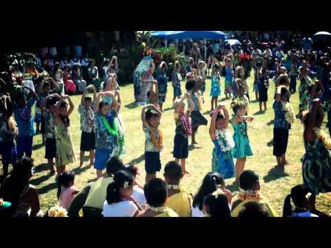 Kapaa Elementary School May Day 2013