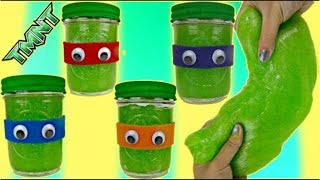 TMNT Teenage Mutant Ninja Turtles Slime  Do itYourself Craft