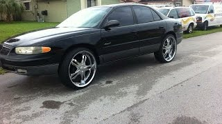 24's on 2000 Buick Regal 3.8 v6 GSE Supercharger