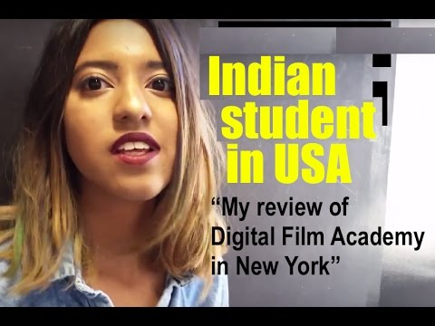 Shreya - Indian student at Digital Film Academy New York.