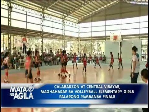 Calabarzon at Central Visayas, maghaharap sa Volleyball Elementary Girls edition