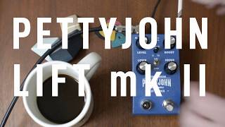 PettyJohn Electronics Lift MKII - Demo