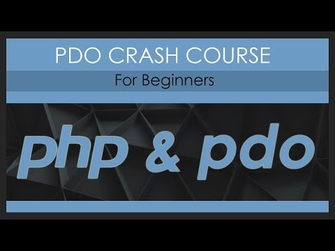 PDO Crash Course (PHP)