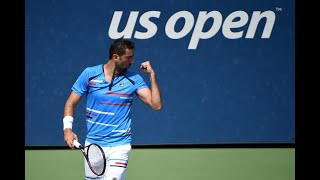 Martin Klizan vs. Marin Cilic | US Open 2019 R1 Highlights