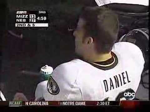 Chase Daniel likes boogers