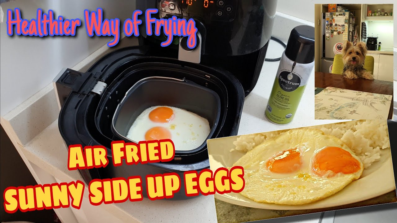 Let's Air Fry Everything || How To Make Sunny Side Up Eggs using Air Fryer || Phillips Air Fryer