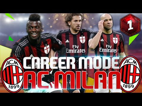 FIFA 16 Career Mode A.C Milan  - Un Nou Inceput
