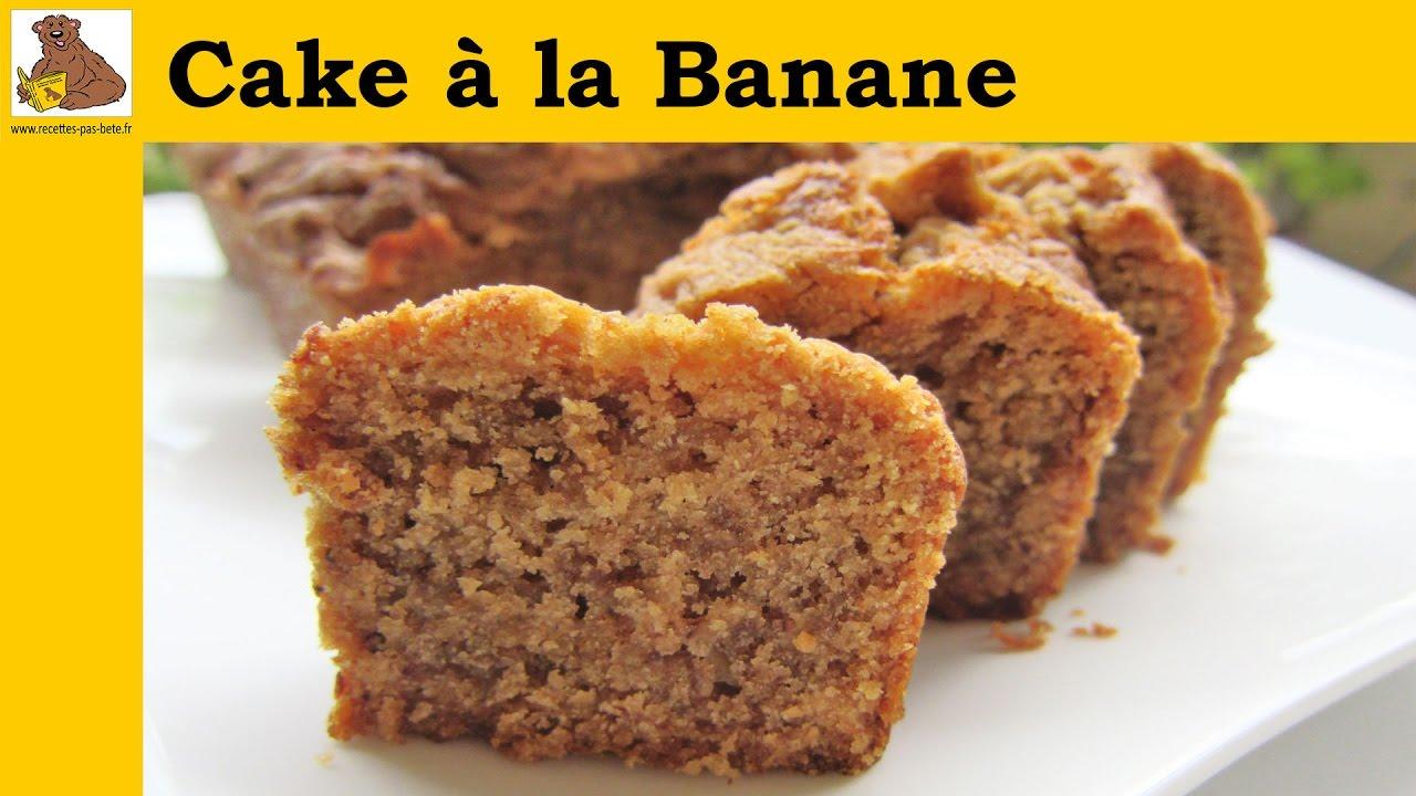 Cake  Banane Recette Facile