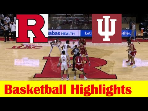 Indiana vs Rutgers Basketball Game Highlights 2 24 2021