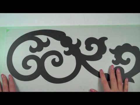 Episode Wall Art Using The Cricut YouTube - How to make vinyl wall decals with cricut