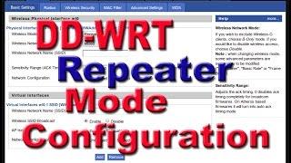 DD WRT Tekrarlayıcı Modunda Adım Olmayan DD WRT Ap ile Adım