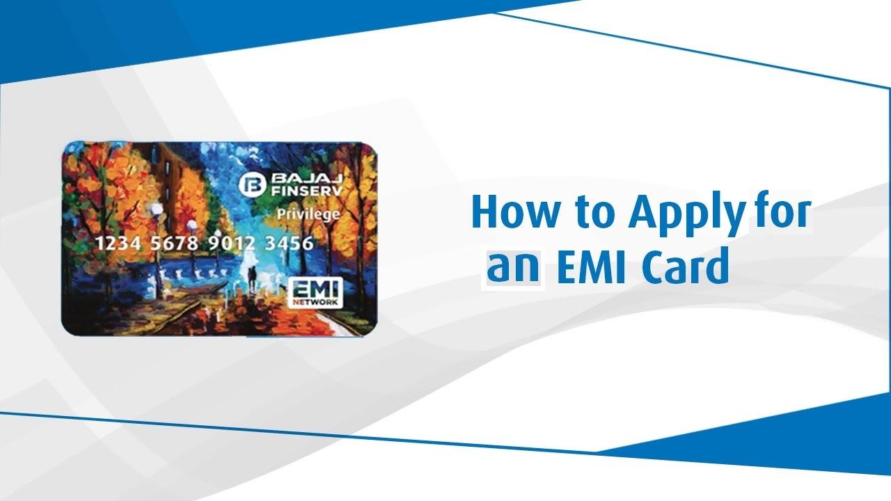 ba8ba5358 How to Apply for Bajaj Finserv EMI Card  - YouTube