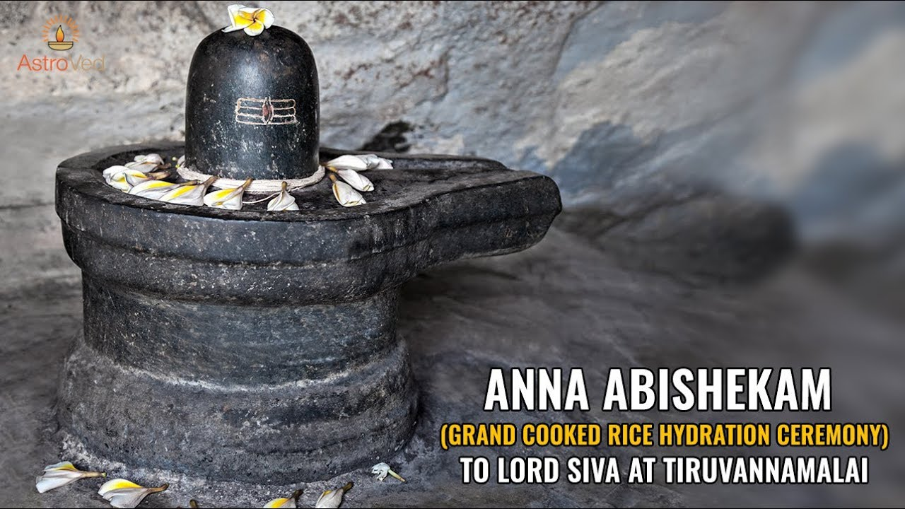 Why do they perform archana to siva with rice?