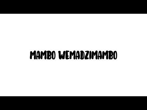 Trevor Dongo - Mambo WeMadzimambo (Lyric Video) ft. kudzi Nyakudya