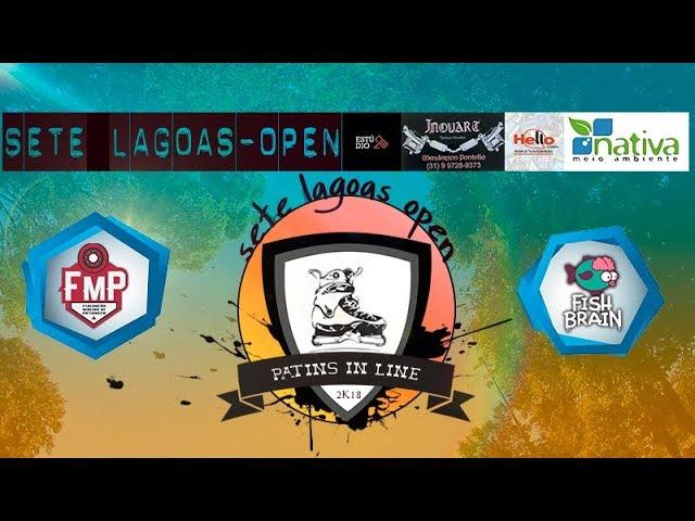 SETE LAGOAS OPEN- PATINS IN LINE 2018