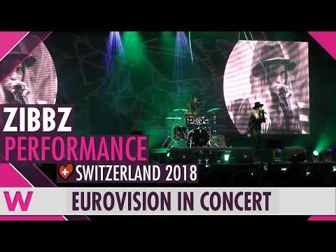 """ZiBBZ """"Stones"""" (Switzerland 2018) LIVE @ Eurovision in Concert 2018"""