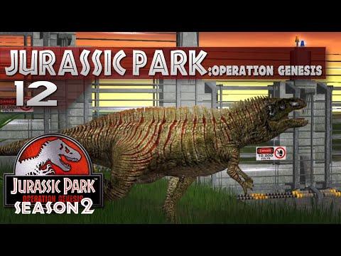 Jurassic Park: Operation Genesis || 12 || Acrocanthosaurus