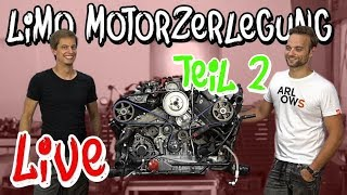 Riss im Block! Der RS4 Limo Motor wird zerlegt, Teil 2 | Philipp Kaess |