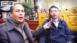 بالفيديو| صينيون في