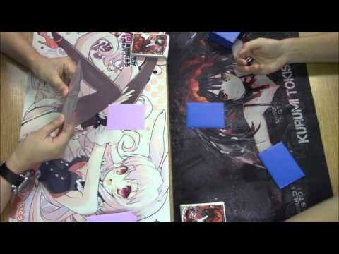 Cardfight!! Vanguard Full Match - Revengers vs Sanctuary Guard Dragon