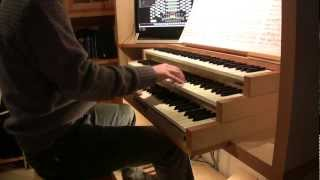 Elgar - Pomp and circumstance march no. 1 (2nd movement, organ)