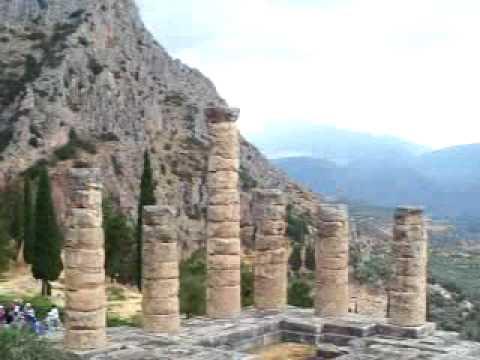 Amazing Delphi Ruins, Greece