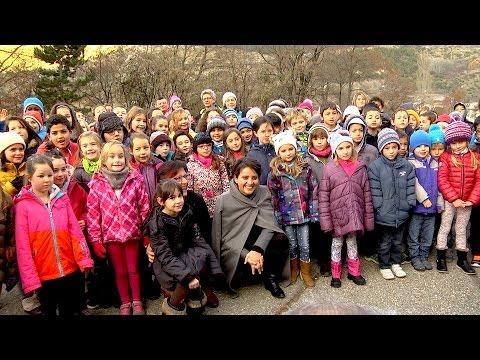Najat Vallaud Belkacem en visite dans les hautes alpes-28 novembre 2016