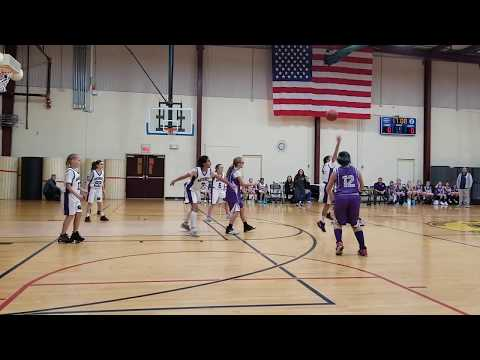 2019-12-29 Girls Monroe Falcons (4-5th Gr, Coach Jamie Costa Rowe) Vs Old Bridge (Ryan Walp)