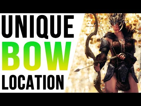 Skyrim Weapon Locations - Hidden Bow in an Unmarked Cave