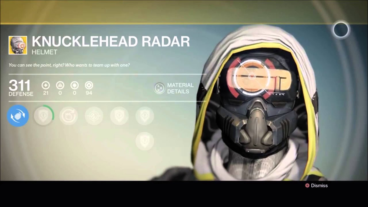 Knucklehead Radar Year 2
