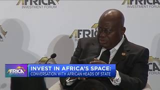 Africa Investment Forum: Invest in Africa's space