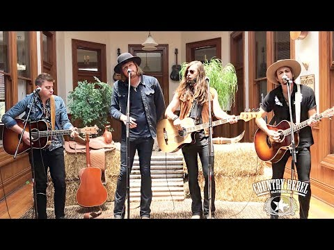 A Thousand Horses 'Blaze of Somethin'' // Country Rebel HQ Session